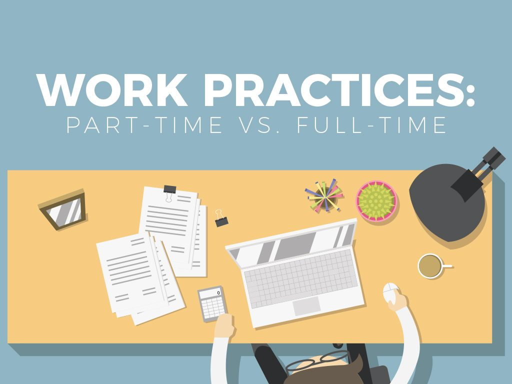Work Practices: Part-Time vs. Full-Time_COVER