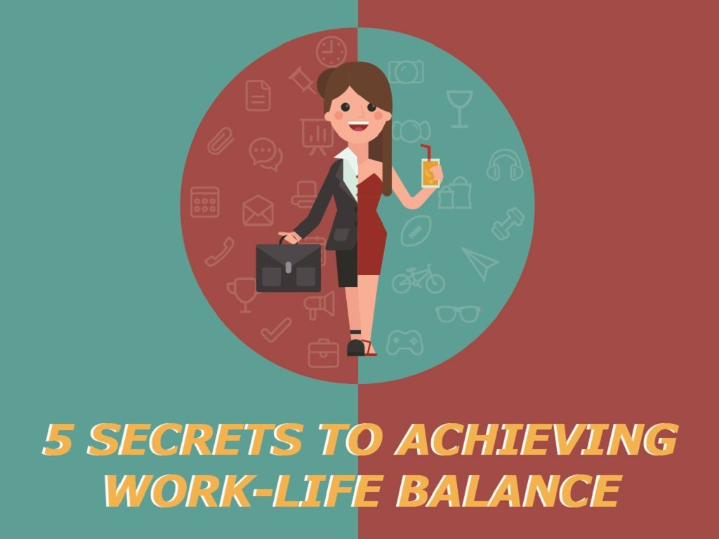secrets to work life balance cover