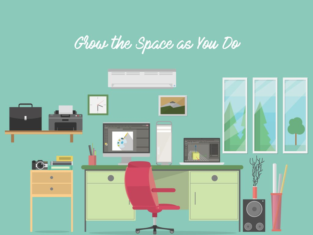 grow the coworking space