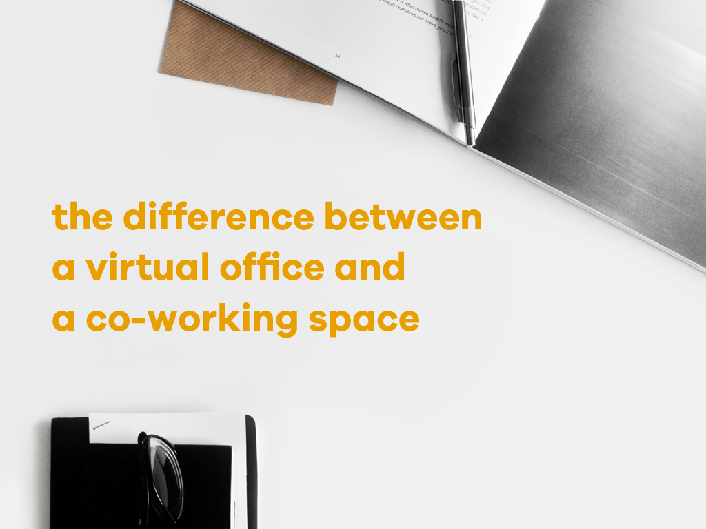 The Difference Between a Virtual Office and a Co-working Space