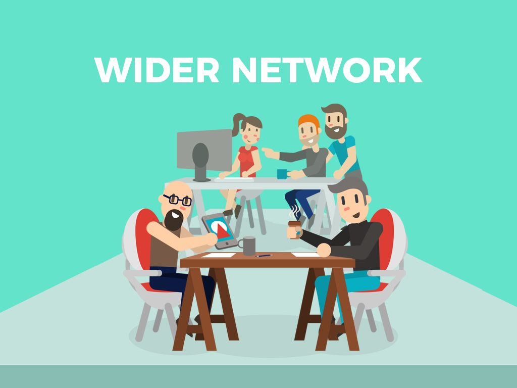 Fosters wider network