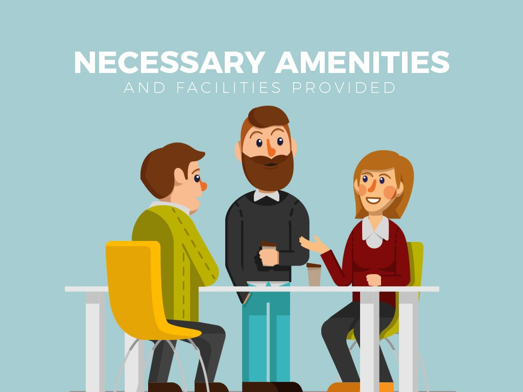necessary amenities